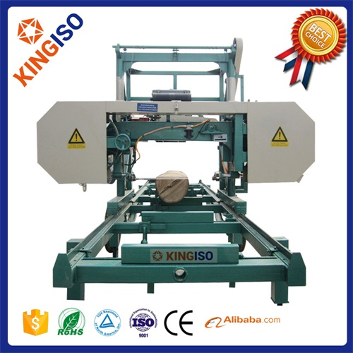 Good quality portable horizontal band sawmill's diesel engine MJ1000 woodworking machinery