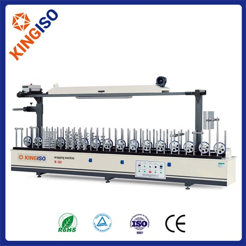 Profile wood Machine BF300A Profile Wrapping Machine Scraping Coating Type