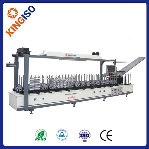 Hot sale machine  BF300C-II Profile Wrapping Machine of Combined Type