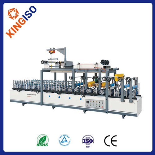 Good quality wrap machine BF600A Profile Wrapping Machine of Scraping Coating Type