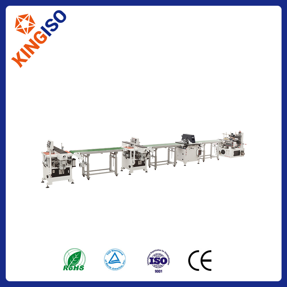 Woodworking sanding machine production line